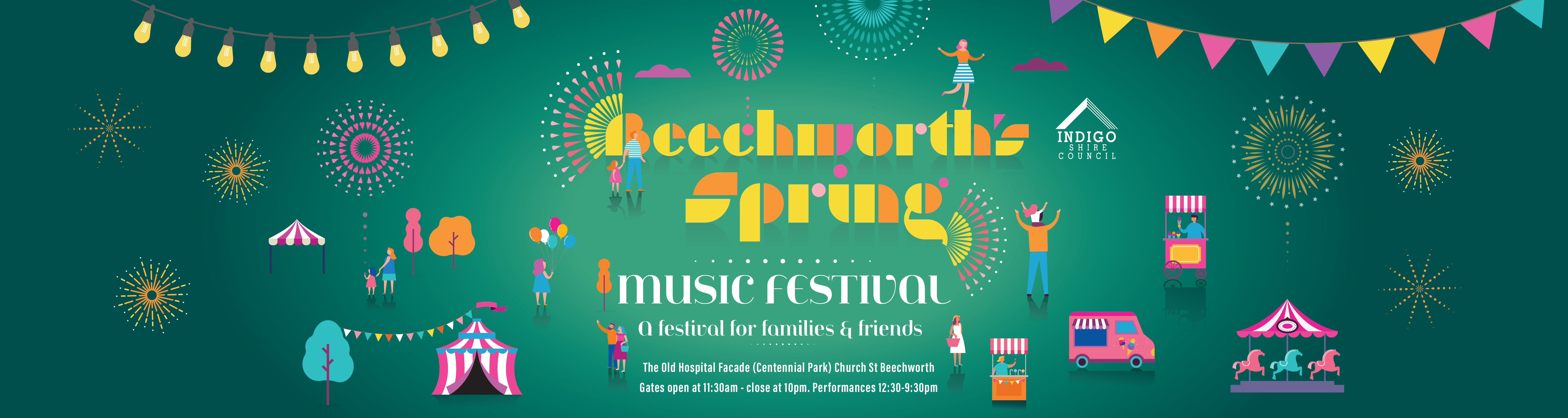 Beechworth Spring Music Festival Baner